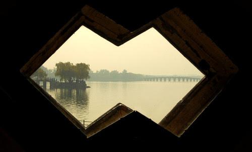 17-arch bridge