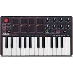 Akai Professional MPK Mini MK2 25-Key MIDI Controller, Black