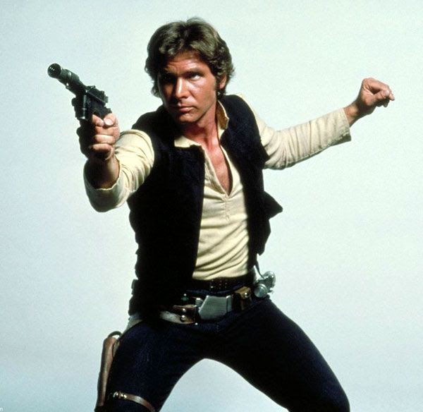 Still no word on whether Harrison Ford will be welding a blaster again in STAR WARS: EPISODE VII.