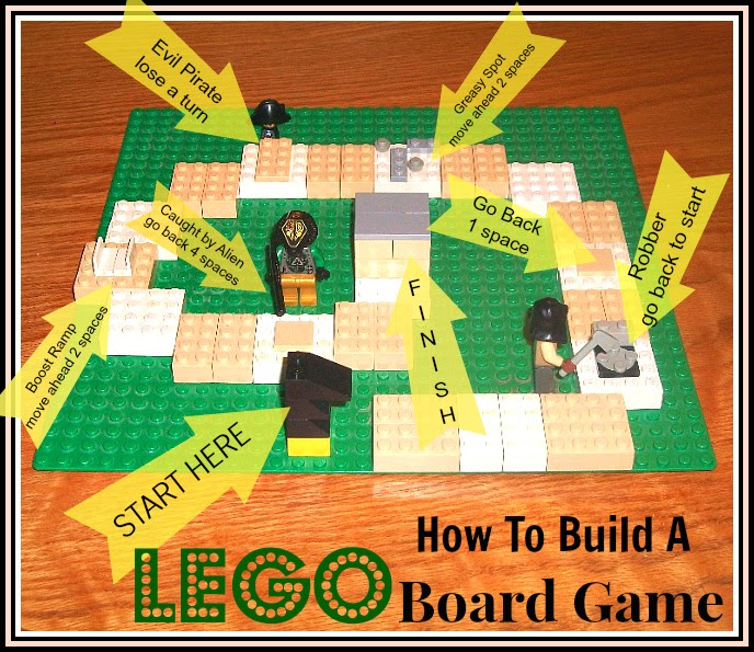 Lego Board Game | Apron Strings & other things