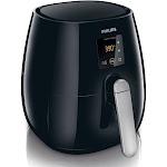 Philips Viva Collection HD9230 Plastic Deep Fryer - 1425W - 0.9 qt - Black/Silver