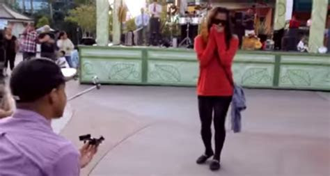 Brilliantly Choreographed Marriage Proposal at Downtown