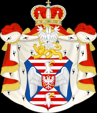 Archivo: Escudo de armas de la Casa de Petrović-Njegoš.svg