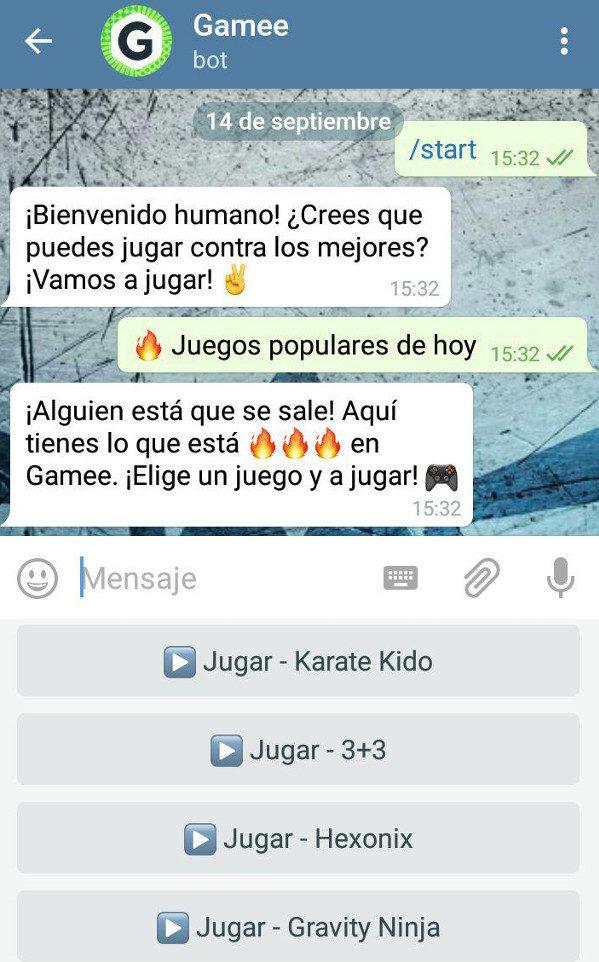 05 Trucos Telegram bot gamebot gamee juegos