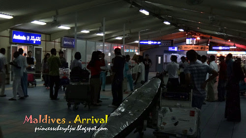 Arrival in Male 07