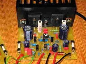 Bộ khuếch đại Hi-Fi 100W với MJL3281A và MJL1302A