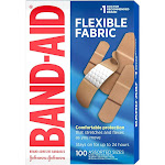 Band-Aid Flexible Fabric - 100ct
