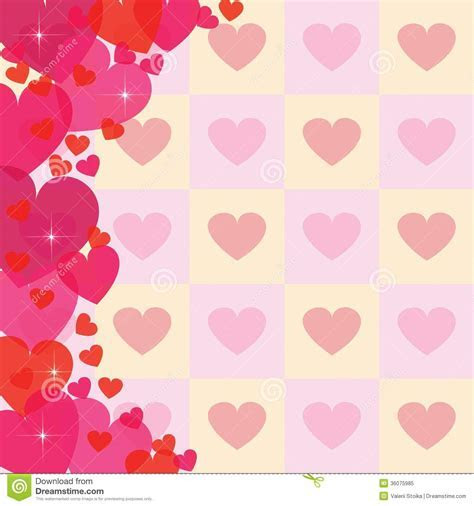 Abstract Heart Background Royalty Free Stock Photo   Image