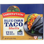 Garden Of Eatin' Blue Corn Taco Shells - Blue Corn - 5.5 Oz - Pack of 12