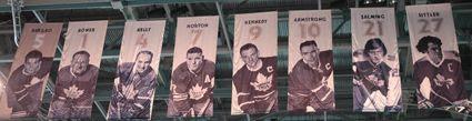 Sundin Maple Leafs Banners, Sundin Maple Leafs Banners