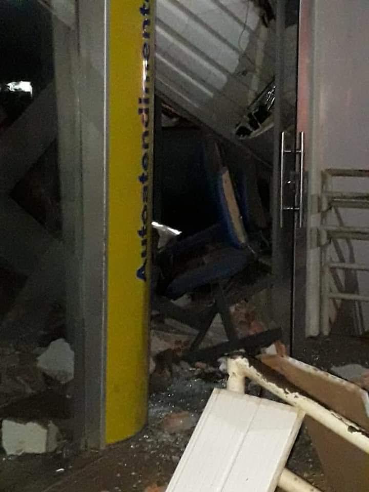 Bandidos explodem agência bancária de Esperantinópolis