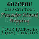 Cebu City + Pescador Island Hopping Tour Itinerary 3 Days 2 Nights Package