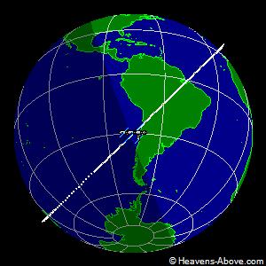 Passaggi ISS sull'Italia