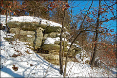 Winter Outcropping