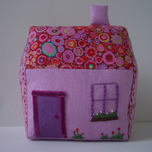 Lilac Linen Fabric House