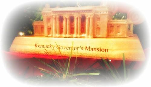 Governor's Mansion Christmas Ornament - Kentucky