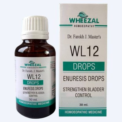 Wheezal WL12 Enuresis Drops, Homeopathy for Bedwetting - Homeopathy Remedies