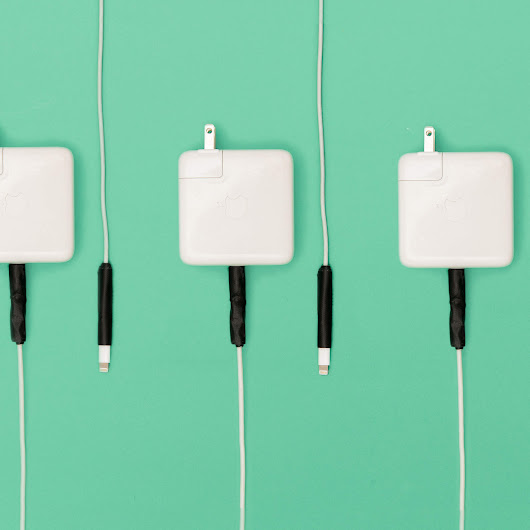 How to Keep Your Apple Power Cords From Fraying