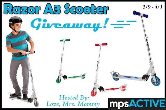 Razor Scooter Giveaway – Work Money Fun
