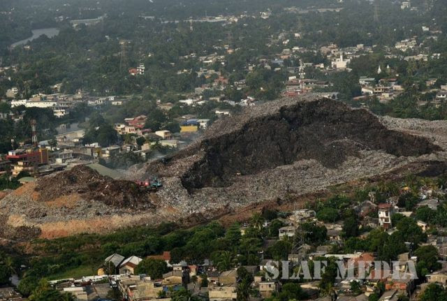 Image result for meethotamulla garbage dump