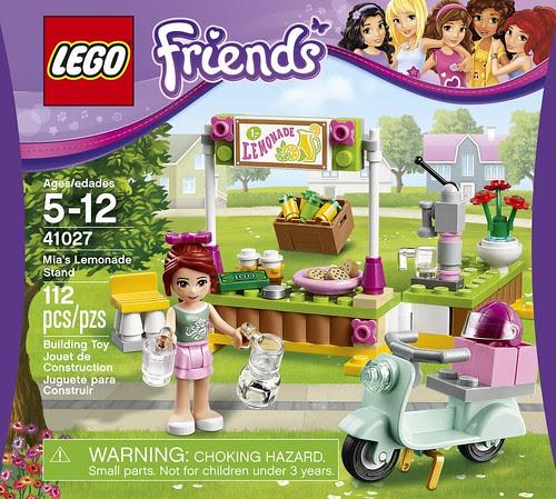 LEGO Friends Mia's Lemonade Stand 41027