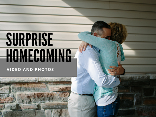 A Surprise Homecoming | Fort Leonard Wood, MO Documentary Photographer