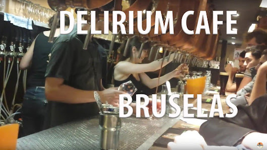 Delirium Café en Bruselas - Video - Hanselbier