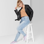 Women's High-Rise Skinny Jeans - Wild Fable Washed Blue