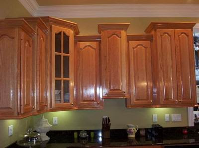 Installing crown mouling on kitchen cabinets   The Home ...
