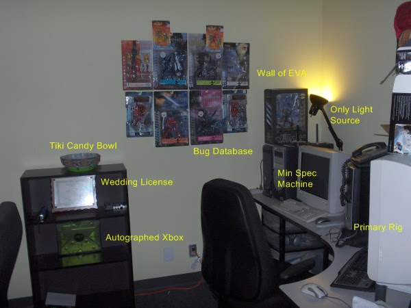 Picture of the right half of my office.