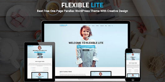 Flexible Lite: Best Free One-Page Parallax WordPress Theme