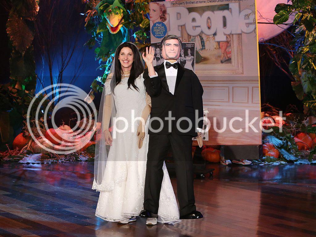 Ellen DeGeneres is Amal Clooney for Halloween photo ellen-degeneres-Halloween-2014-Custome-Amal-Clooney.jpg