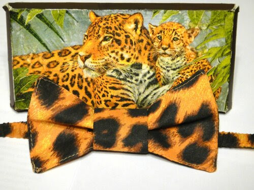 Бабочка с леопардовым принтом