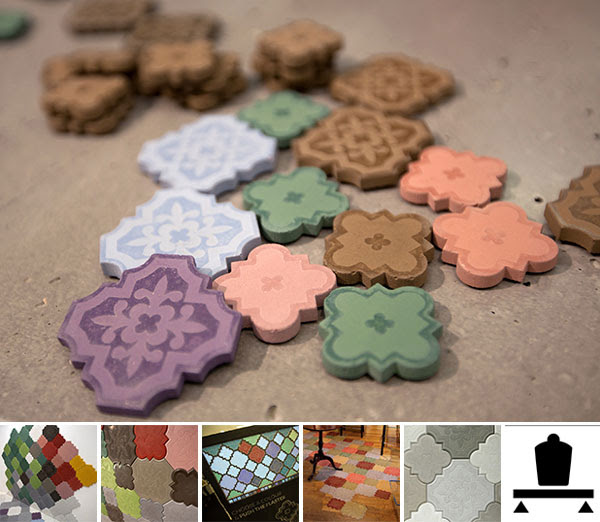 Ivanka Flaster Concrete Tiles (