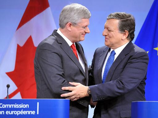 Canada and European Union Agree Free-Trade Deal