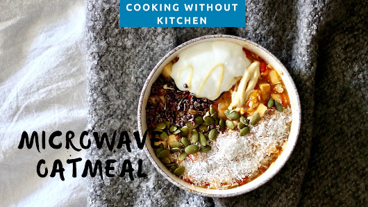 Microwave Apple Cinnamon Oatmeal Recipe (video) • Wonderlifeofsara