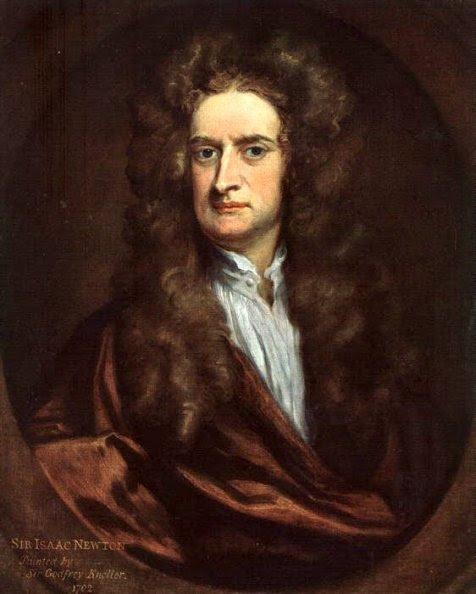 Isaac Newton (Godfrey Kneller)