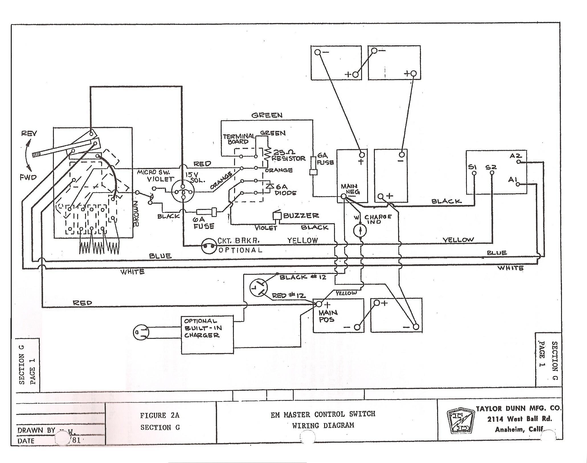 Abf870 1995 Club Car Wiring Diagram Wiring Library