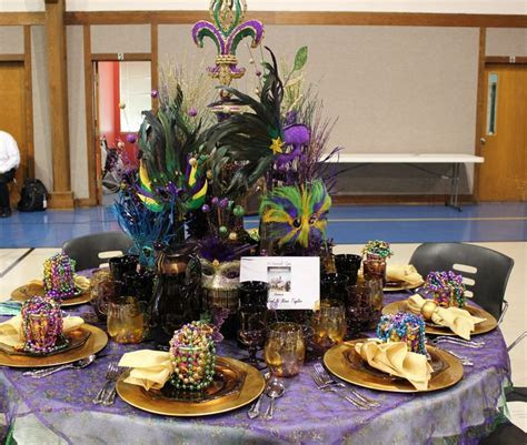Mardi Gras Decor   Mardi Gras Table   Pinterest   Charger