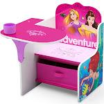 Disney Princess Chair Desk with Storage Bin - Delta Children