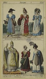 [Italian women and Pope outdoo... Digital ID: 812293. New York Public Library