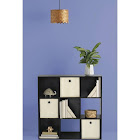 Room Essentials 9-Cube Organizer Shelf, Brown