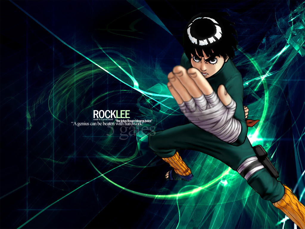 Download 860 Naruto Wallpaper Rock Lee Terbaik