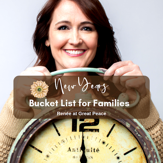 The New Years Bucket List for Families