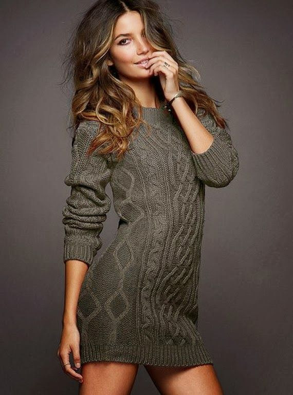 Stylish Sweater Dress