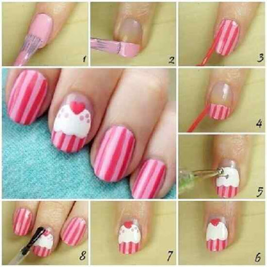 Step by step easy nails! For important days!