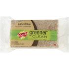 3M Scotch-Brite Greener Clean Non-Scratch Scrub Sponge, Natural Fiber - 3 pack