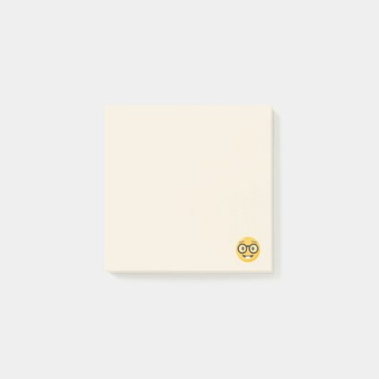Nerd Emoji Post-it Notes