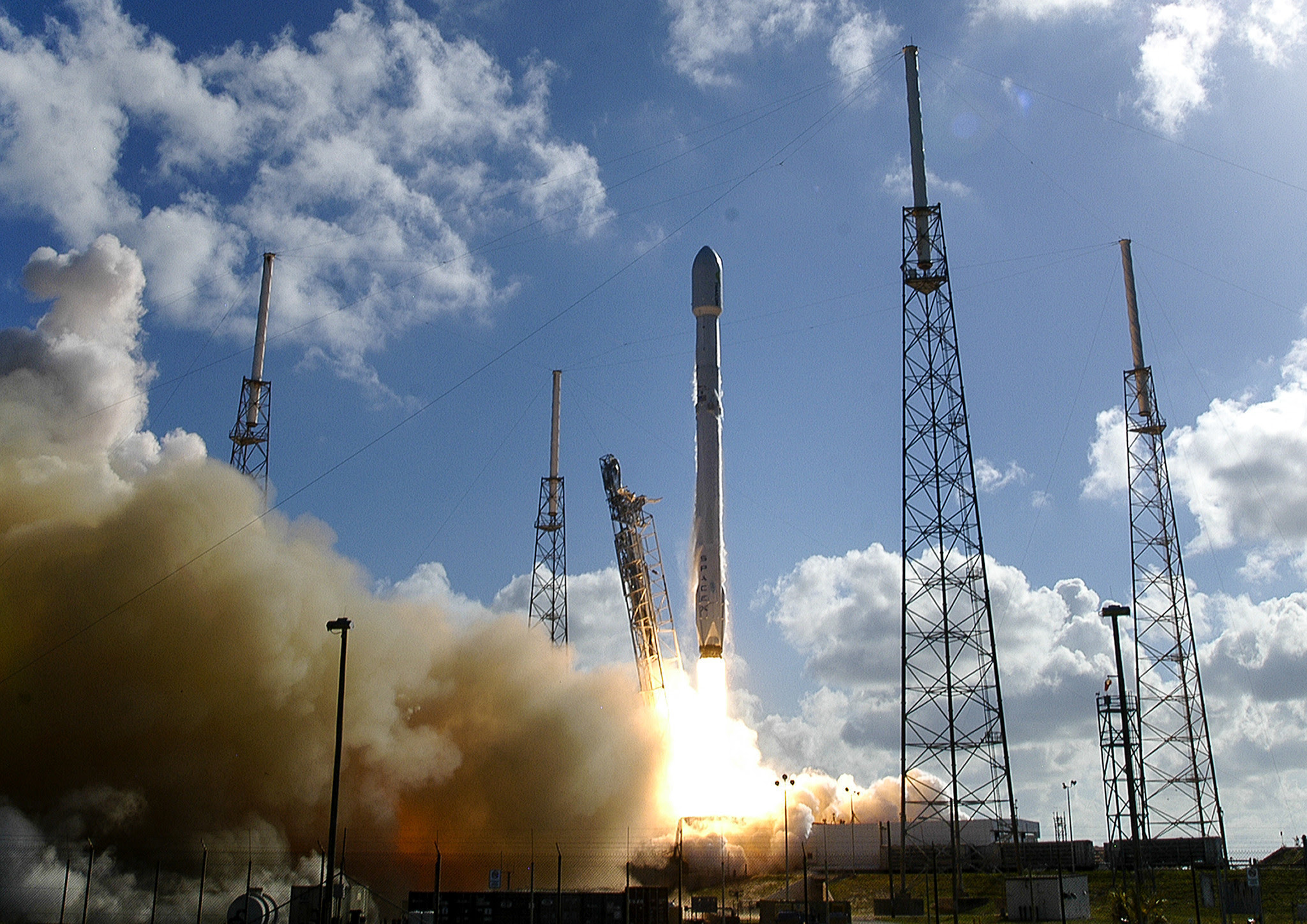 Image result for Iridium spacex Launch