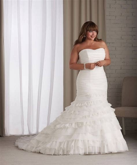 163 best ideas about Plus size wedding dresses on